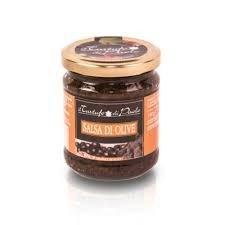 salsa di olive in olio extravergined'oliva